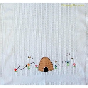 127290 1 300x300 Bee SKEP Waffle Tea Towel