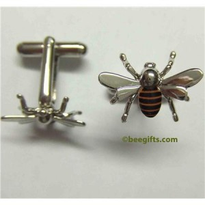 127301 300x300 Honey Bee Cufflinks