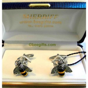 1273021 300x300 Bumble Bee Cufflinks