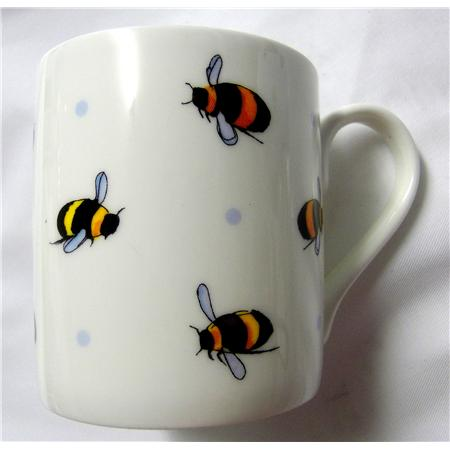 bumble bee mug blanc bj sherriff. Black Bedroom Furniture Sets. Home Design Ideas