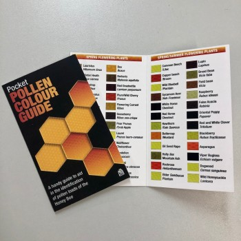 Pollen card cover and inner