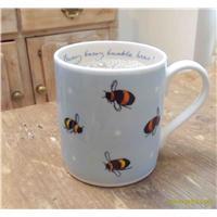 china Bumble Bee Mug   Blue