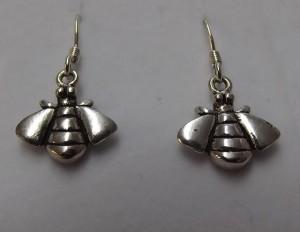 earings 300x232 Little Bee Drop Earrings   sterling silver
