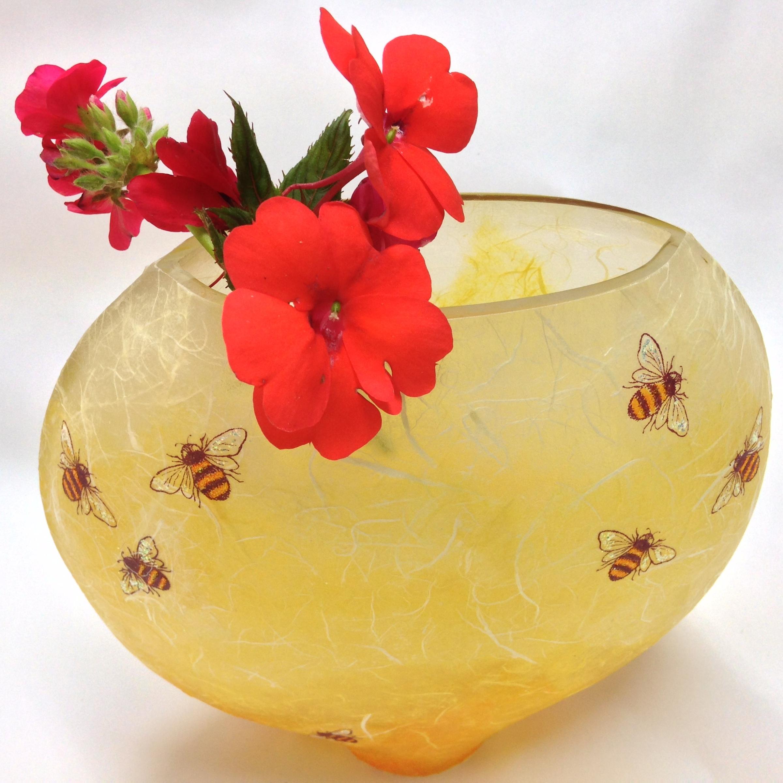 Elliptical Karen Keir Vase