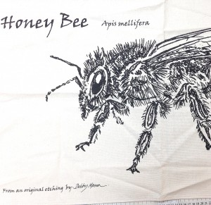 Honey Bee Tea Towel  300x291 Honey Bee Tea Towel