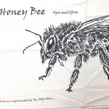 Honey Bee Tea Towel -