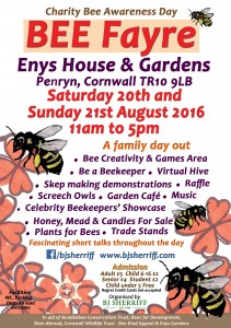 BEE Fayre charity event BJ Sherriff