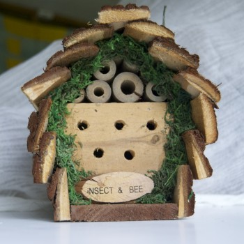 Insect Bee Hotel Rustic hotel2-Square