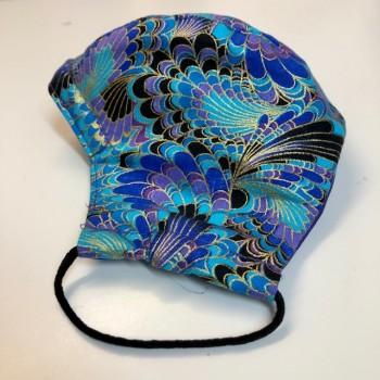 Peacock folded